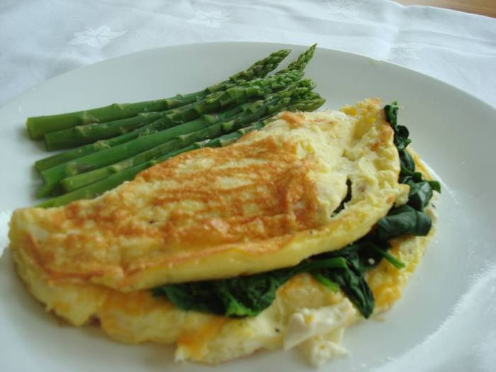 spinach-and-feta-omlete
